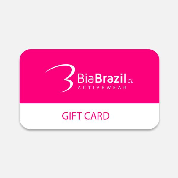 gift card bia brazil para comprar ropa deportiva mujer en la tienda biabrazil.cl
